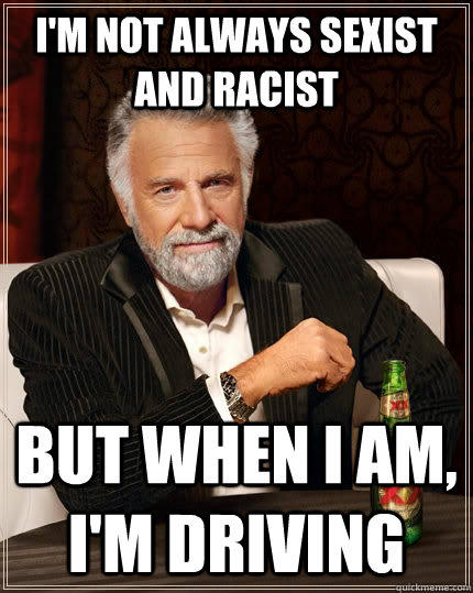 I am not racist